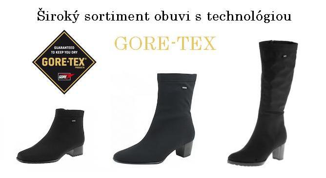Veľmi zaujímavou je ponuka obuvi Ara vyrobená z kombinácie materiálov  stretch a gore-tex afa8ebe4564