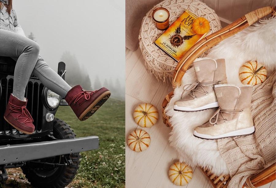 Topánky, ktoré môžete nosiť v zime